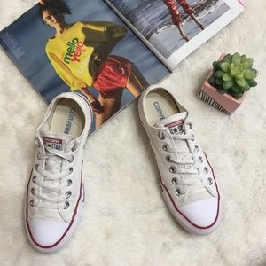 Converse Chuck Taylor All Star White Lean Low